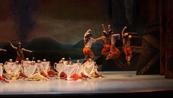 Голый балет половецкие пляски