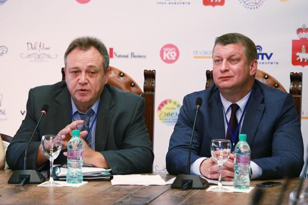 Юрий Барзыкин и Павел Лях