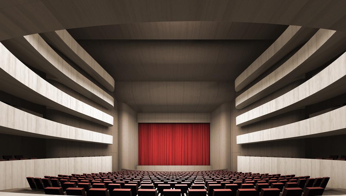 Новое строение оперного театра вПерми возведут наберегу Камы