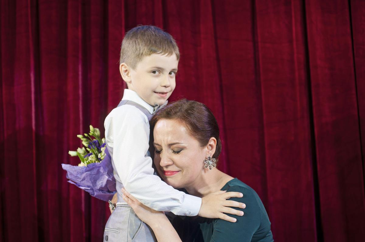 Надежда Павлова с сыном