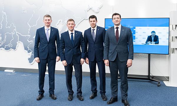 4 губернатора стали членами «Единой России»