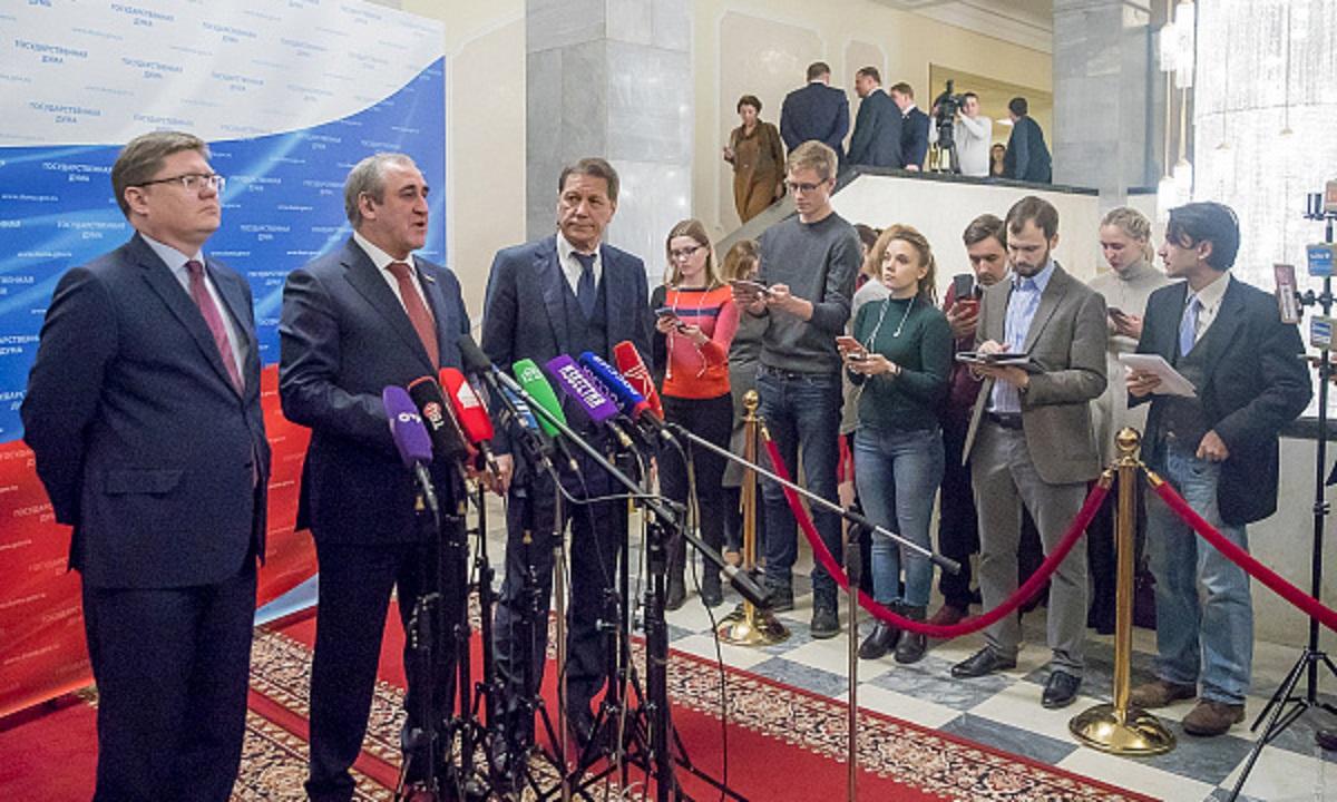 Народные избранники фракции «Единая Россия» поведали о ценностях ввесеннюю сессию Государственной думы