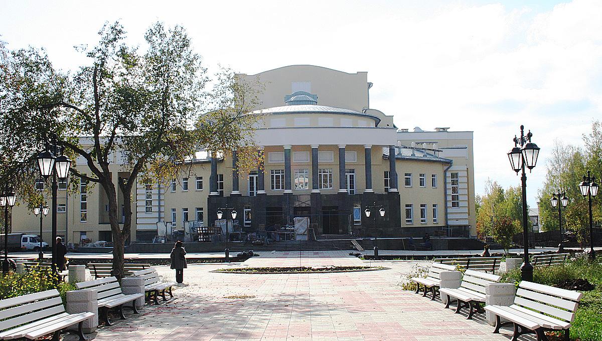 Драмтеатр в Кудымкаре
