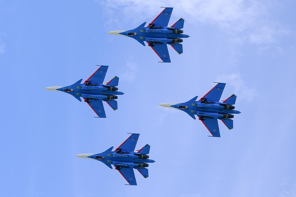 пилотажная группа небесные рыцари фото рамка